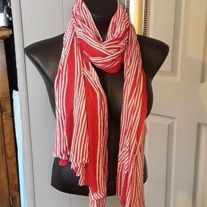 BananaRepublic candy striped scarf